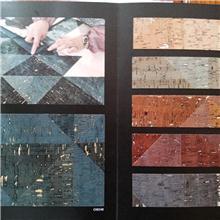 草编、木皮、水晶珠墙纸
