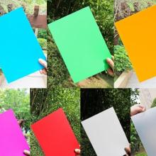 UV印刷PP板 彩色多选PP胶片 0.2-2MM塑胶片定做