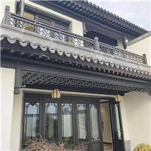西安中国风仿古门窗 隔热隔音仿古门窗 金属仿古景区门窗供应商
