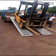 久达大象牌4米轮履式机械用叉车铝梯