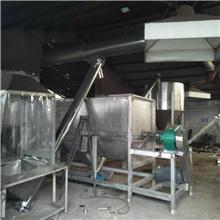 山东不锈钢糖渣原料搅拌机带脉冲除尘器
