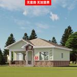 轻钢别墅安置房 旅游小民宿 钢结构移动岗亭活动房设计工厂