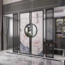 304不銹鋼拉絲面玫瑰金屏風,售樓中心金屬裝飾