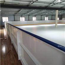 进口原料仿冰溜冰板可租赁易拆卸仿冰板