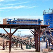 石英砂輪斗洗沙機泥沙清洗 環保型水洗砂設備處理工藝