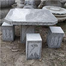 河南石材桌椅厂家大理石桌凳花岗岩桌凳