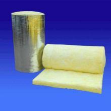 龙飒离心玻璃纤维毯 铝箔贴面 超细玻璃棉卷毡玻璃纤维针刺毯