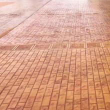 太和縣壓模地坪彩色水泥壓花