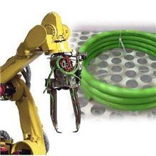 高柔性抗拉耐磨聚氨酯机器人坦克链信号线加控制线屏蔽电缆