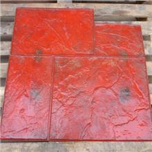 厂家直销六角模梅花仿石模具 艺术压印模具造型 模具款式多多