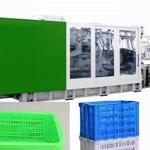 周转筐生产设备塑料筐机器黑色筐子机械