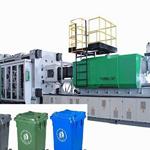 全自动环卫垃圾桶生产机器塑料垃圾桶设备