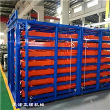 河北唐山板材貨架 臥式鋼板存放架 抽屜式重型貨架 銅板貨架