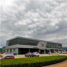 广汽丰田4s店展厅外立面型材铝方管