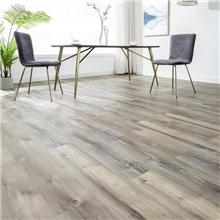 江西石塑地板厂家直销锁扣设计PVC膜环保仿木纹防滑