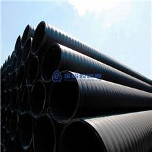 PE双平壁钢塑复合缠绕排水管