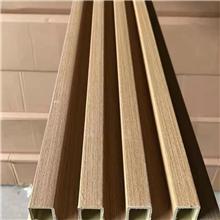 孝义长城板网红格栅竹木纤维格栅板批发总代理一手供应厂家