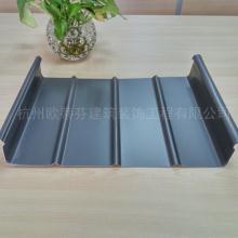 生产厂家 铝镁锰金属合金屋面板 高直立锁边