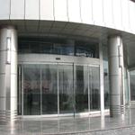 茂名钢化玻璃感应门_办公室自动推拉门 电机配件