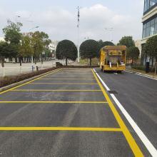 供应重庆綦江马路划线 城区道路热熔标线 画车位线施工队伍公司
