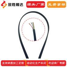 面条型耳机线线材加工定制 深圳专业扁线抽线厂家