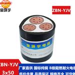 金环宇电缆 b类阻燃耐火yjv电缆ZBN-YJV3X50平方