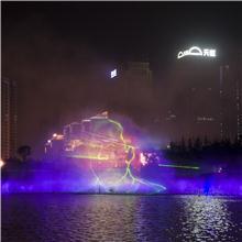 湖南音乐喷泉厂家  长沙喷泉公司 喷泉厂家销售水幕激光电影