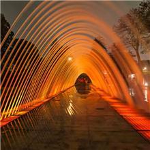 湖南音乐喷泉厂家 长沙喷泉公司 喜马拉雅音乐喷泉提供玻光泉