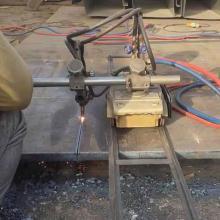 数控火焰切割机外贸出口工厂供应磁力管道切割机钢板火焰切圆机