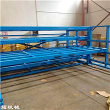 山东潍坊抽屉式板材货架 卧式钢板货架 铝板货架 铜板摆放架