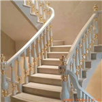 塔城东方国际酒店铜雕刻楼梯扶手款式