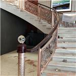 小区建筑楼道步梯扶手定制家用不锈钢楼梯护栏办公楼酒店楼梯立柱