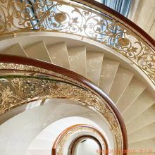 高密铜艺雕刻楼梯扶手 工艺精美雕精品