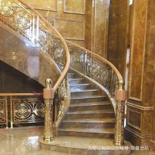 潮州东台铜艺实实在在的楼梯扶手耐用感_