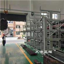 6米钢管在车间里如何存放 伸缩悬臂式钢管货架优势