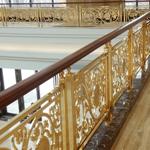 屯溪 欧式楼梯铜扶手 打造家居精美着装