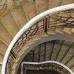 迎合你的心意设计扬州中式别墅铝艺楼梯 欧式别墅铜护栏