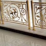 晋城欧式铜楼梯扶手 邹城 弯形铜楼梯栏杆 新曼 豪宅订制款式