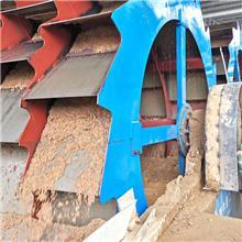 轮式洗砂机设备 双角轮洗砂机 轮斗洗砂机厂家 隆鼎
