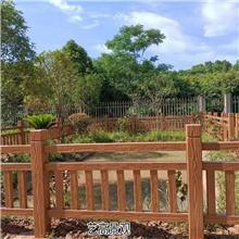 广东 广西 江西 湖南仿木护栏的尺寸 水泥护栏常用领域