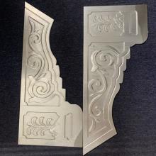供应筑金属铝合金雀替-中式仿古建筑金属构件建材