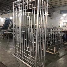 中式仿古铝合金屏风隔断装饰铝花格窗花定制