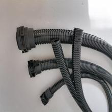 供应18.7mm纵向开口波纹管 双开口电力塑料波纹管现货