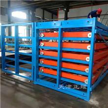 6米抽屉式货架存放钢板铝板铜板平料模具工具发动机外壳