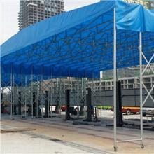 杭州 专业定做雨棚 大型推拉蓬 推拉折叠棚 雨棚厂家