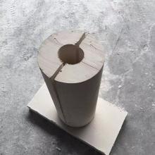 憎水性耐高温硅酸钙管壳管道防腐保温