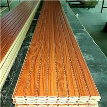 云南竹木纤维吸音板微孔桩一手供应链接发货厂家直销环保