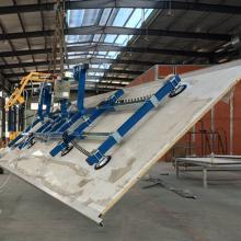 冷藏车厢板材搬运吸盘吊具、300KG真空吸吊机电动翻转90度