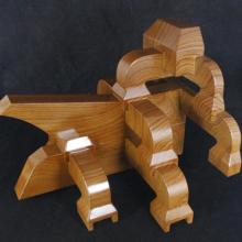 订制仿古建筑构件铝合金斗拱-仿木纹建材铝飞檐斗拱翘角
