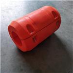 嘉兴航道疏浚工程管子浮托 8寸组合式抽沙浮筒